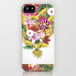 Parrot Floral iPhone Case