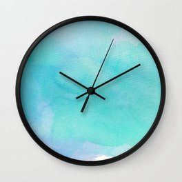 For The Love Of Aqua Wall Clock