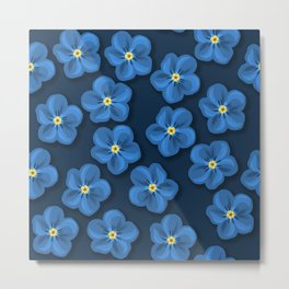 FORGETMENOT 001 Metal Print