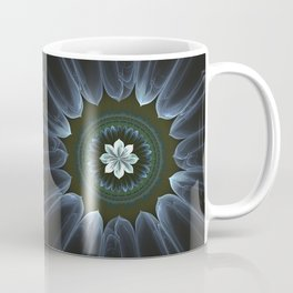 Blossom Within in White Coffee Mug