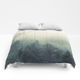 My Peacful Misty Forest Comforters
