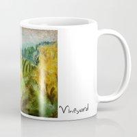oregon Mugs featuring Oregon Vineyard  by James Peart