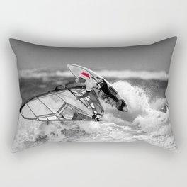 surf santa - wind surf Rectangular Pillow