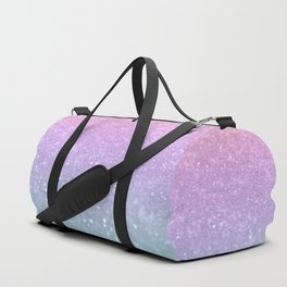 Unicorn Princess Glitter #1 #pastel #decor #art #society6 Duffle Bag