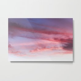 Summer Sky II - Nature Photography Metal Print