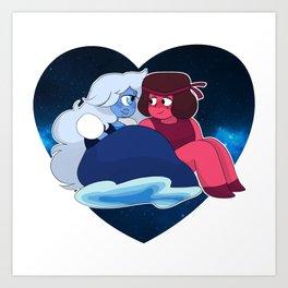 Made of love Art Print