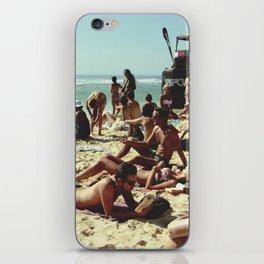 Crowded Beach iPhone Skin