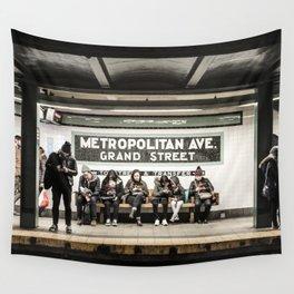Metropolitan Ave. Wall Tapestry