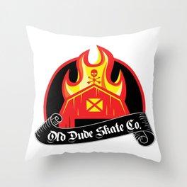 ODS Barn Burner Throw Pillow