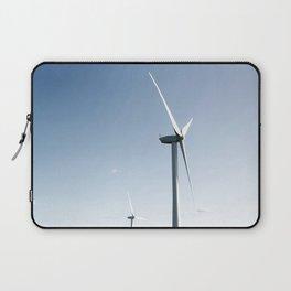 wind turbine in derbyshire Laptop Sleeve