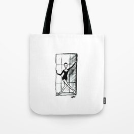 Dancer in the Window Tote Bag