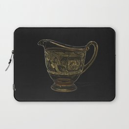 Etched Glass Laptop Sleeve
