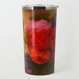 Carnation Romance Travel Mug