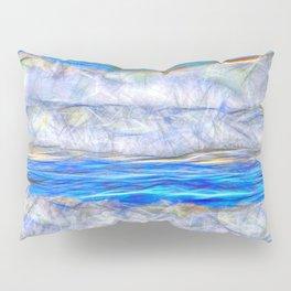 Abstract beautiful ocean waves Pillow Sham