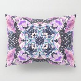 Kaleidoscope of night flowers Pillow Sham
