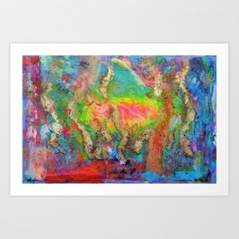 PROPHETIC INTERCESSION and WORSHIP as a VICTORIOUS WARFARE STRATEGY - FEATURED ON YOUTUBE Art Print