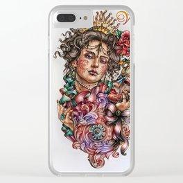 Venice fantazy Clear iPhone Case