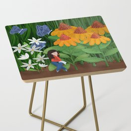 Drawing in he garden Side Table