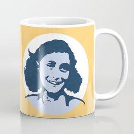 Anne Frank Coffee Mug