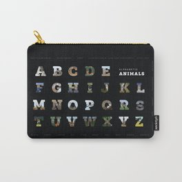 Alphabetic Animals: A to Z Carry-All Pouch