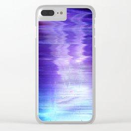 Glytch 09 Clear iPhone Case