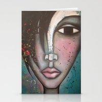 lolita Stationery Cards featuring LOLITA by Sandra Mucciardi