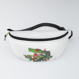 Red-Eyed Tree Frogs Fanny Pack