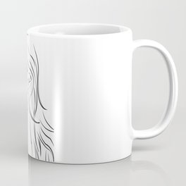 Masked Woman Coffee Mug