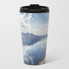 Crater Lake with a view of the Phantom Ship Travel Mug