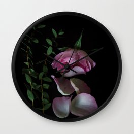 Missing you Rose Wall Clock