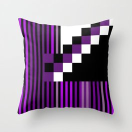 Playing with Colors | Shapes Throw Pillow