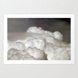 Thunderhead Art Print
