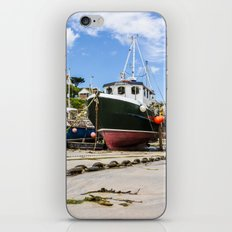 Newquay Harbour iPhone & iPod Skin