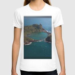 São Miguel Island Ep Quadrangular Cover Hollowed Hole Shadow T-shirt