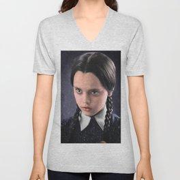 Wednesday Addams Unisex V-Neck