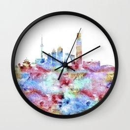Beijing Skyline China Wall Clock