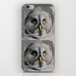 MOON OWL iPhone Skin