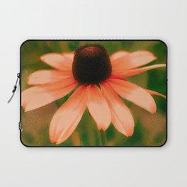 Vibrant Orange Coneflower Laptop Sleeve