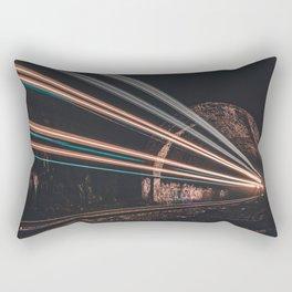 LASER TRAIN Rectangular Pillow