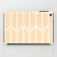 honeycomb iPad Cases featuring Honeycomb by madelyn bilsborough