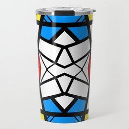 Shattered - geometric graphic design Travel Mug