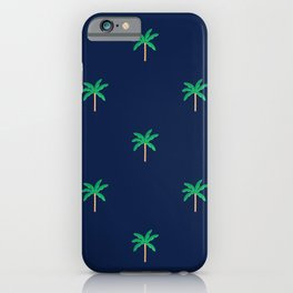 Palm trees Pattern iPhone Case
