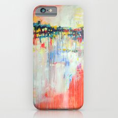 on the water,  expressive landscape, abstract iPhone 6s Slim Case