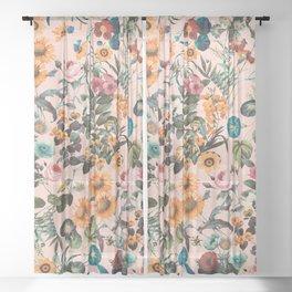 EXOTIC GARDEN XVIII Sheer Curtain