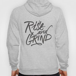 HIGH - Rise and Grind - Black Hoody