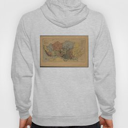 Vintage Map of Porto Portugal (1903) Hoody