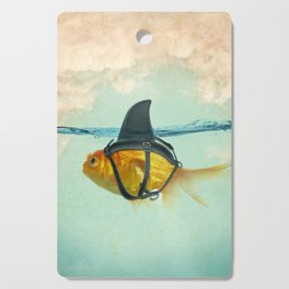 Brilliant DISGUISE - Goldfish with a Shark Fin Cutting Board
