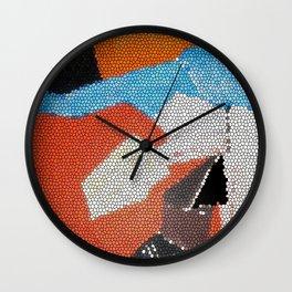 Cubist Mosaic Wall Clock
