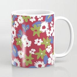 Modern bold liberty print Coffee Mug