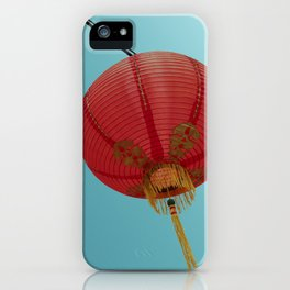 Chinese Lantern in Chinatown LA iPhone Case